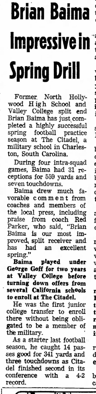 Brian Baima Impressive -