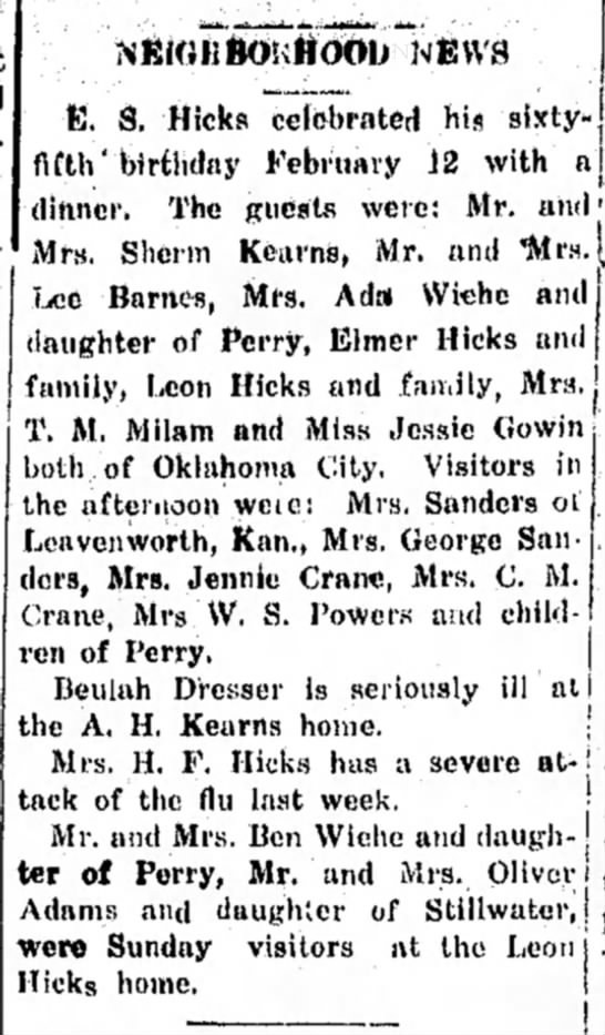 The Perry Journal 2/18/1926 -