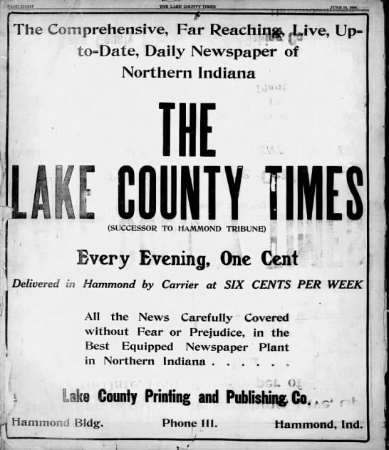 The Lake County Times -