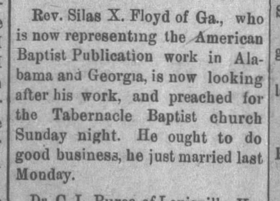 [No Headline], The Southern Watchman (Mobile, Alabama) May 18, 1901, page 2 -
