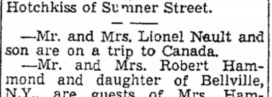 18JUL1947 Berkshire eagle Dad to canada -
