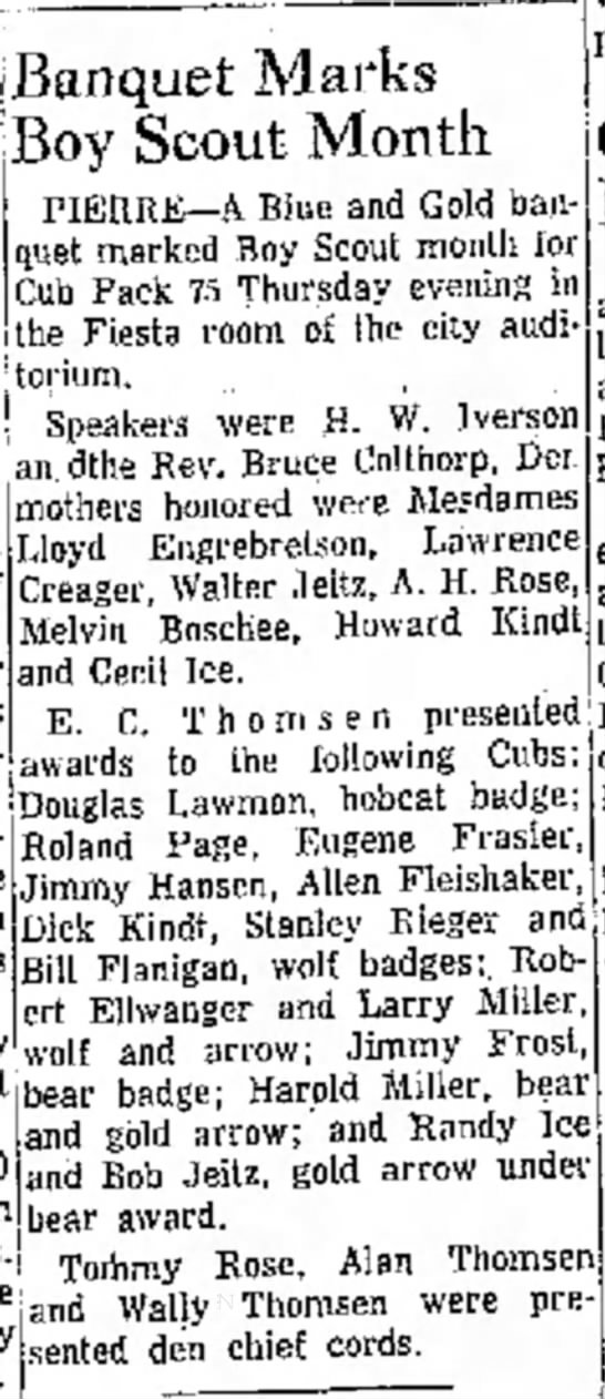 The Huronite and Daily Plainsman, Huron SD, March 5 1959 -