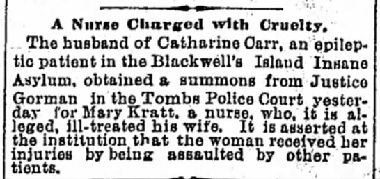 The World (NY,NY) 26 June 1980 Nurse charged with Cruelty -