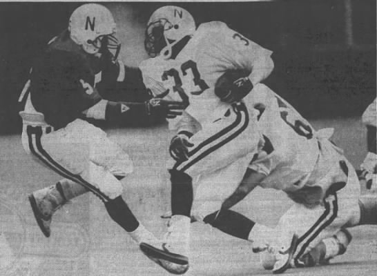 1988 Nebraska spring game photo -