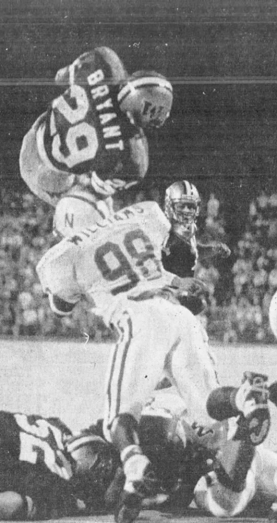1992 Nebraska-Washington football, Beno Bryant TD -