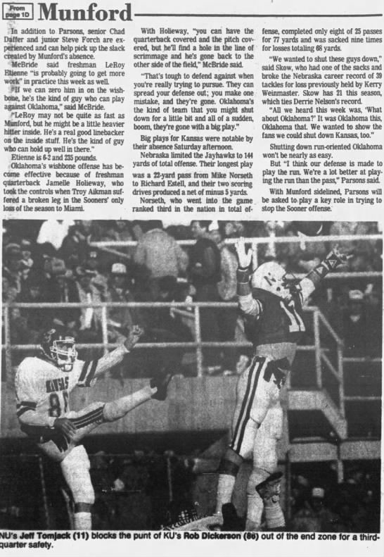 1985 Nebraska-Kansas LJS Munford2 -