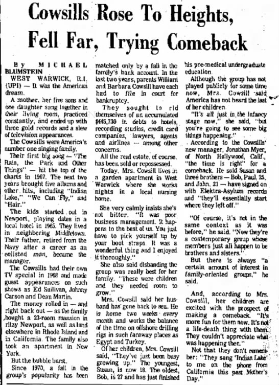 Brownsville Herald 071477 - Rose To Heights, Fell Far, Trying Comeback B y...