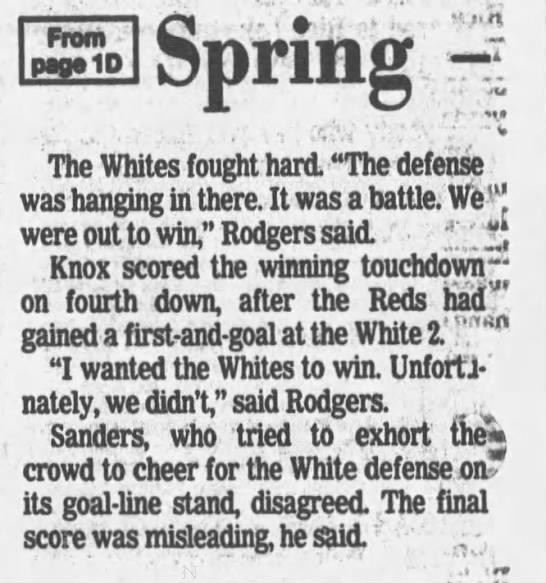 1987 Nebraska spring game LJS2 -