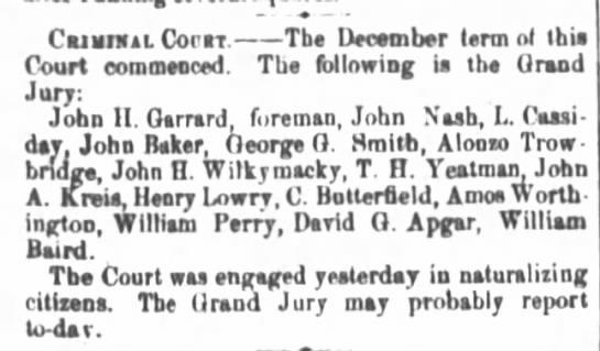 Jury Duty -