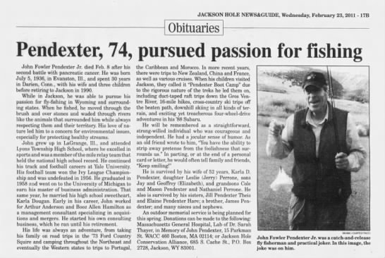 Jackson Hole News and Guide Jackson, Wyoming 23 February