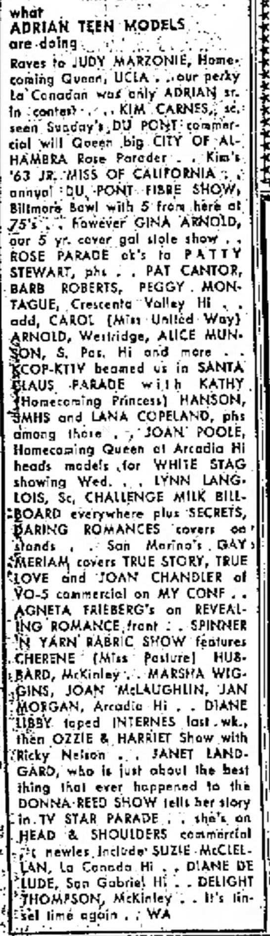December 1963 -