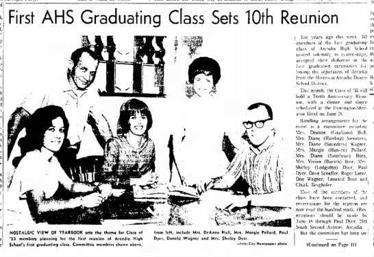 Carol Tarullo13 June 1965 Arcadia Tribune -