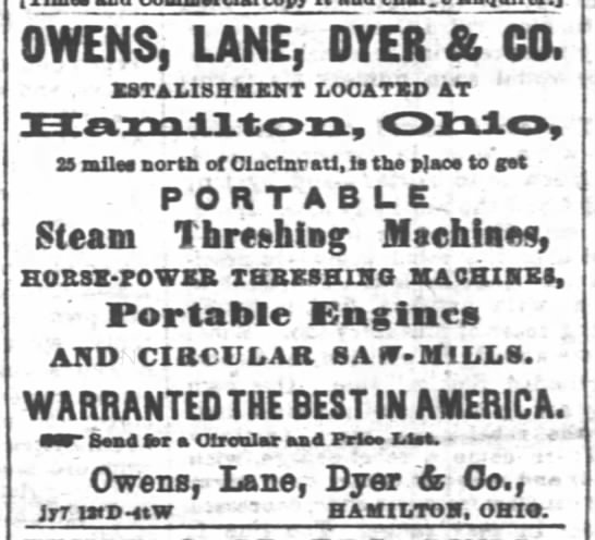 Owen Lane Dyer