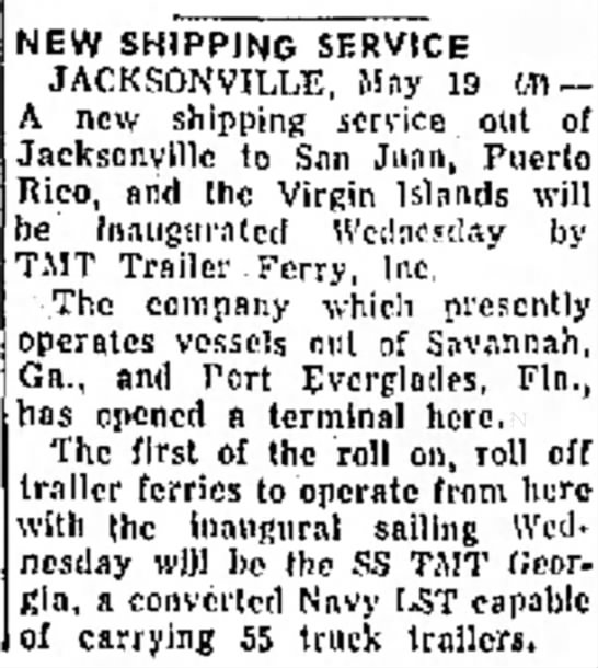 The News Tribune (Fort Pierce, FL) 5-20-56 -