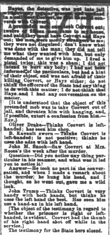 Cincinnati Daily Enquirer5 March 1866 p 2 part 2 -