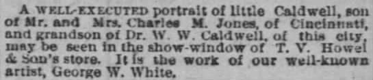 The Cincinnati Enquirer, 4 March 1879, page 7 -