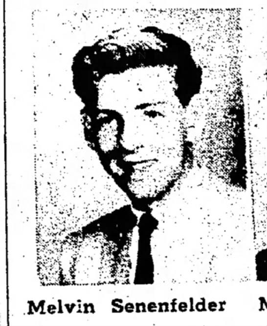 Melvin Senenfelder, 1958 Ledyard High School -