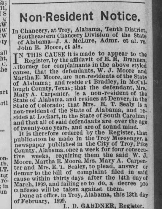 The Troy Messenger (Troy, AL) 12 Apr 1899 - Newspapers com