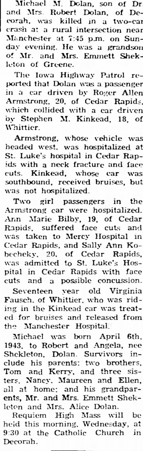 July 1965 Accident -