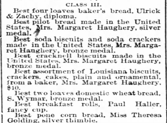 State Fair in New Orleans PrizesDec. 2, 1871, TP pg. 2 -