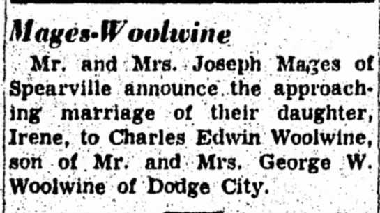 Charles Edwin WoolwineGeorge W Woolwine -