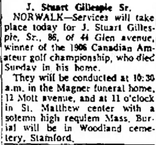 1964 Stuart Gellespie -