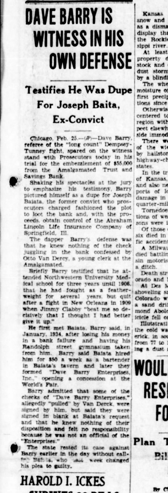 Jacksonville IL Daily Journal 26 Feb 1935 -