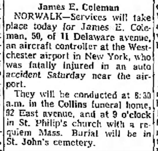 1970 James E Coleman -