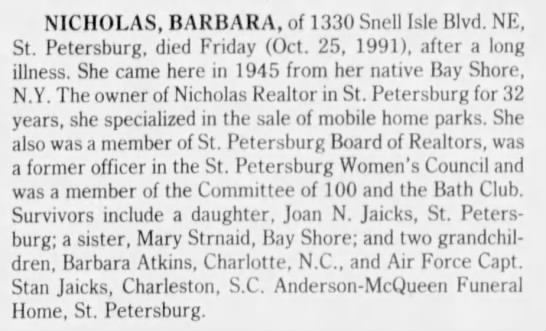 Page 7, obits for North Pinellas County  - Newspapers com