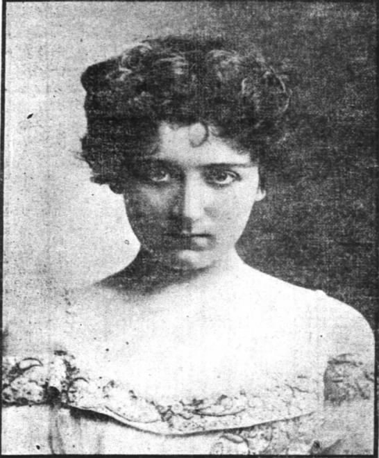 Blanche Walsh 1899 news photo -