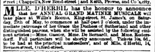 (untitled) The Times (London, England) 19 May 1858, p 1 -