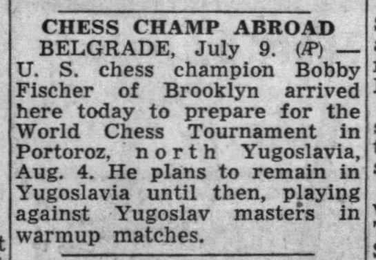 Chess Champ Abroad -