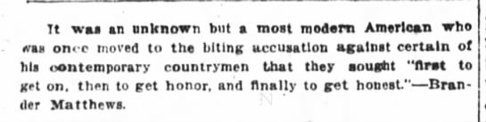 Wall St. Journal, 12/4/1915, p. 2 -