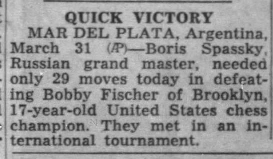 Quick Victory - QUICK VICTORY MAR DEL PLATA, Argentina, March...