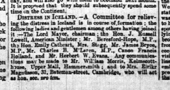 The Times (London, Greater London, Englans) 17. ág. 1882, s. 5 -