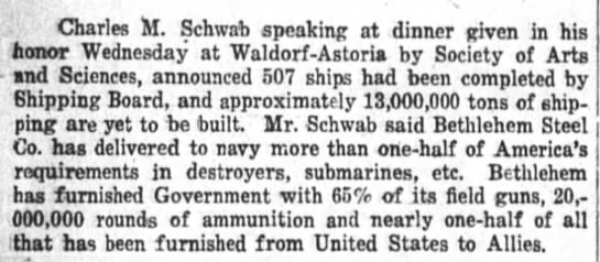 The Wall Street Journal (New York, New York) 15 November 1918  Page 6 -