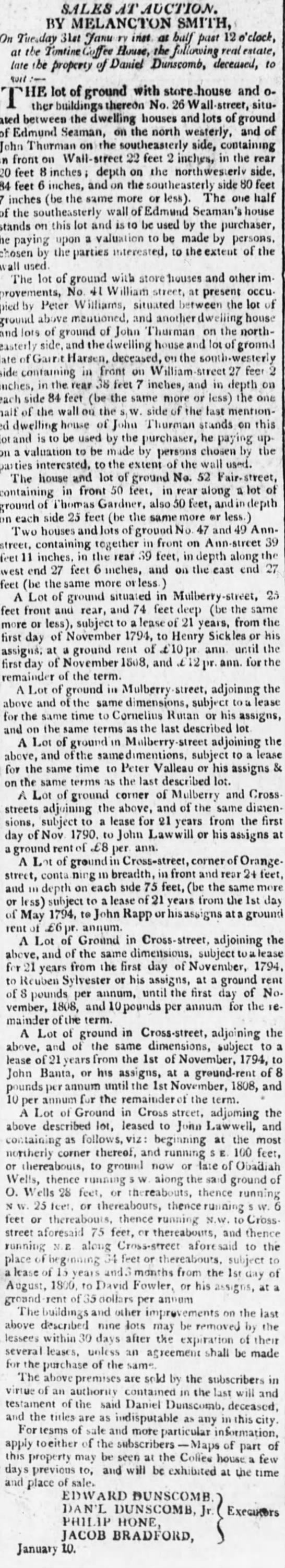 John Rapp May 1794 property -
