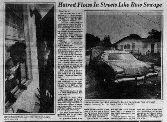 Hatred Flows The Tampa Tribune  11 Jul 1982 -