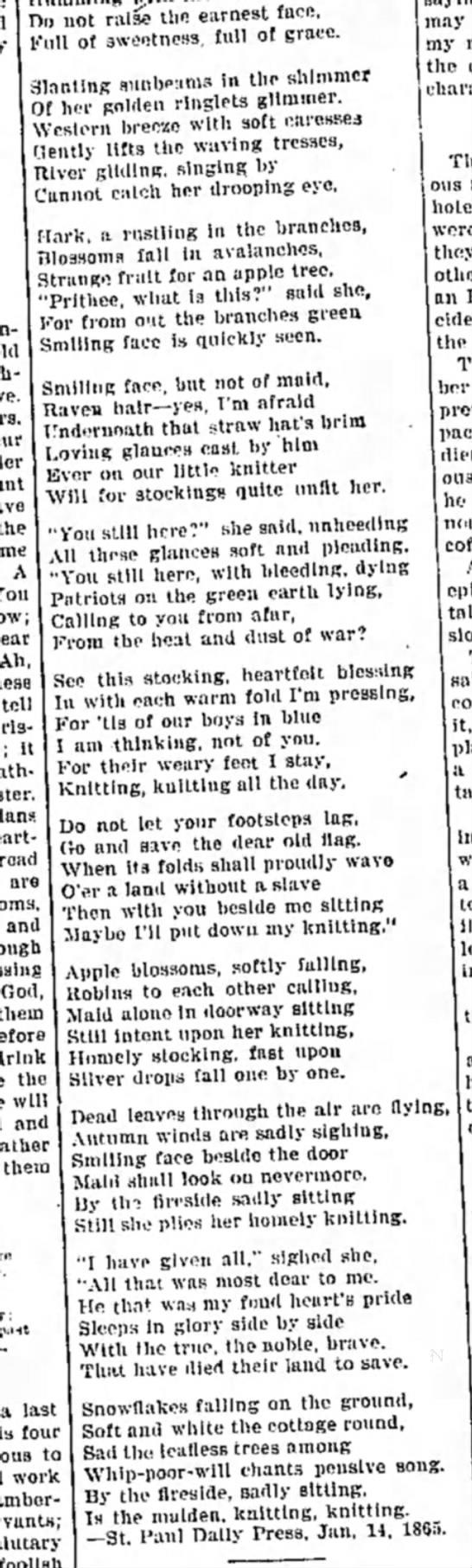 Humboldt Independent, 1896. -