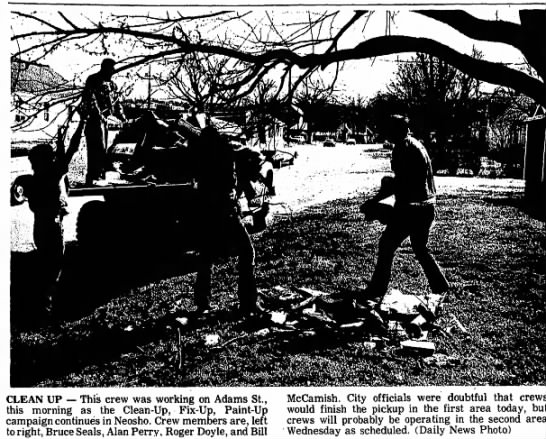 Billy McCamish The Neosho Daily News 2 April 1974 -