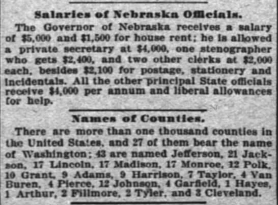 interesting tidbits from July 17, 1895 -
