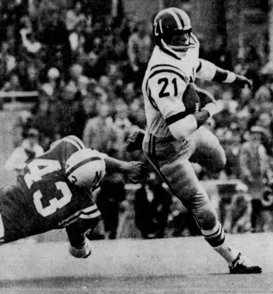 1970 Nebraska-Missouri, Mel Gray and Dave Morock -