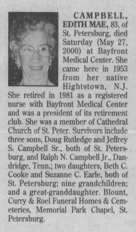 Aunt Dee Obit - Newspapers com