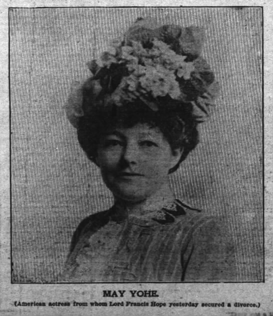 May Yohe pic- The Inter Ocean (Chicago, Illinois- March 22, 1902 -