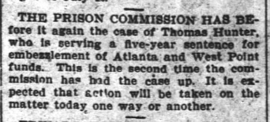 Hunter, Thomas 07 Aug 1902 -