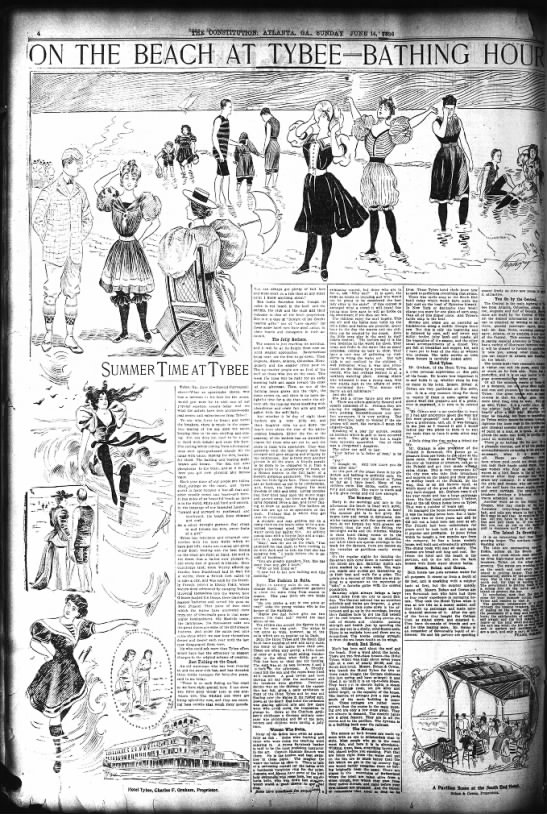 Clipping From The Atlanta Constitution Newspapers