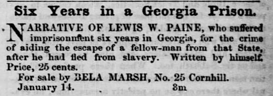 Advert in The Liberator (Boston) 25 March 1863 - Newspapers com