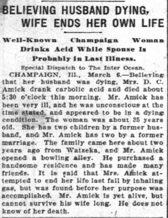 March 7 1903 interocean Chicago -