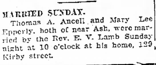 Ancell Thomas A Moberly Monitor-Index (Moberly, Missouri) 23 July 1929 p 3 -