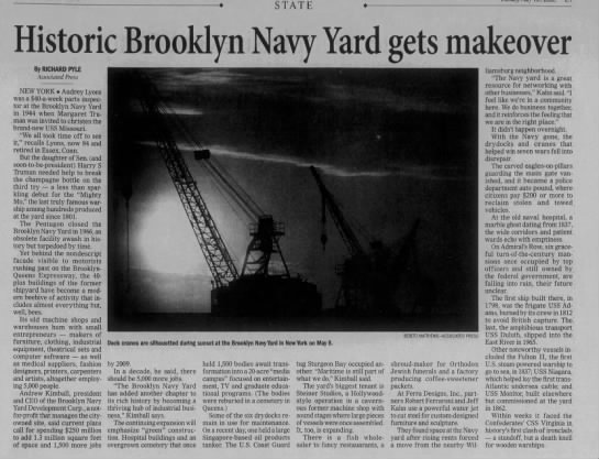 Historic Brooklyn Navy Yard gets makeover -
